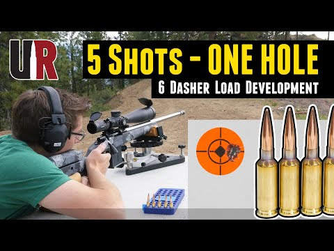 5 Shots, One Hole: 6 Dasher Load Development Initial Results