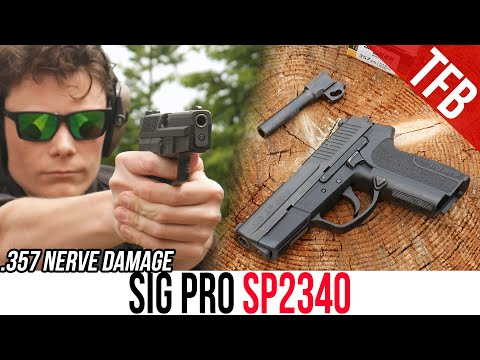 SIG-Sauer's First Polymer Framed Handgun: The SIG Pro SP2340