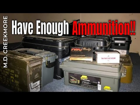 How Much Ammo Per Caliber Do You Really Need?