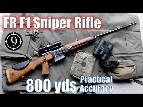 FR-F1 sniper to 800yds: Practical Accuracy + GIGN Loyada Hostage Rescue [feat. Forgotten Weapons]