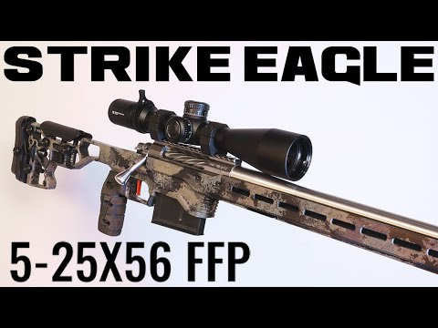 STRIKE EAGLE 5-25X56 FFP (VORTEX OPTICS) | Unboxing & Initial Impressions
