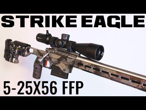 STRIKE EAGLE 5-25X56 FFP (VORTEX OPTICS) | Unboxing & Initial Impressions