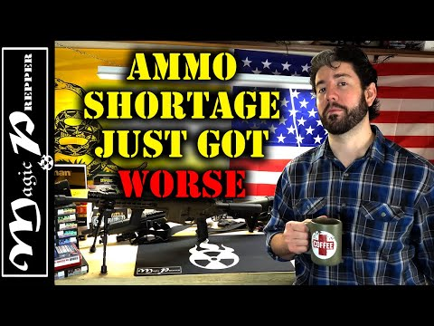 Ammo Shortage Just Got Worse | Prepare For This To Last